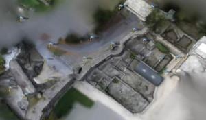 costruzione della geometria del sito mediante Photoscan