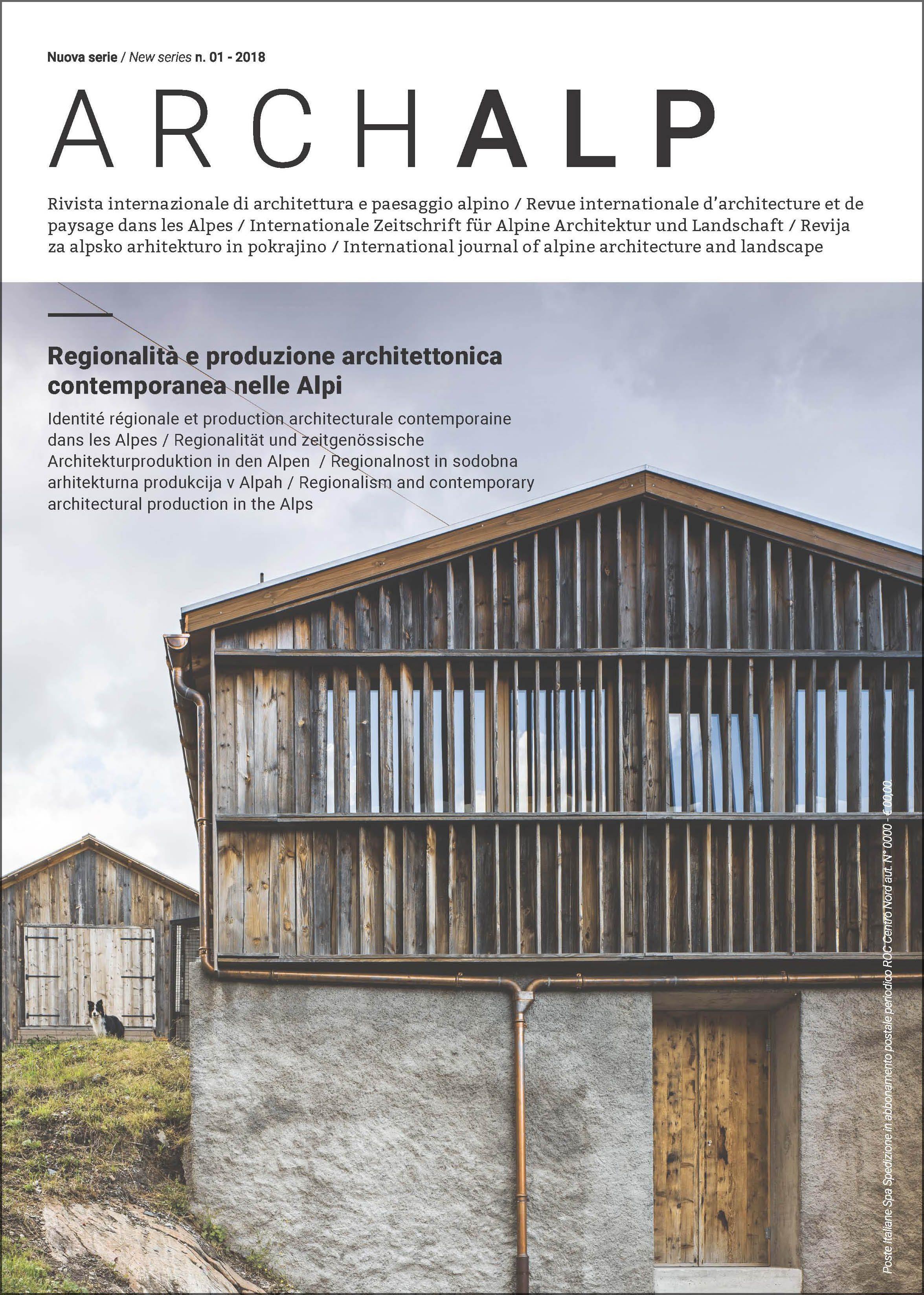 ArchAlp numero 01 2018